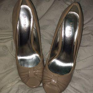 Bamboo high heels